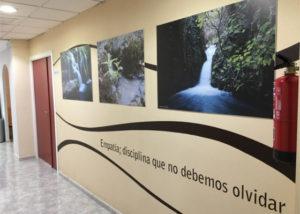 Clínica espanasa pasillo